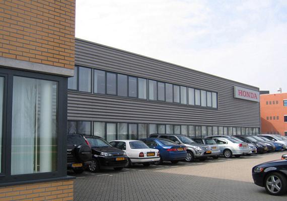 Verbouwing bedrijfsgebouw te Schiphol
