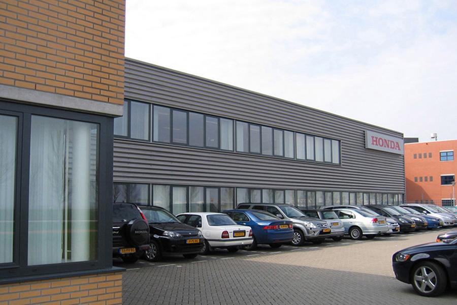 renovatie bedrijfsgebouw te schiphol,  KREUK architectuur Delft
