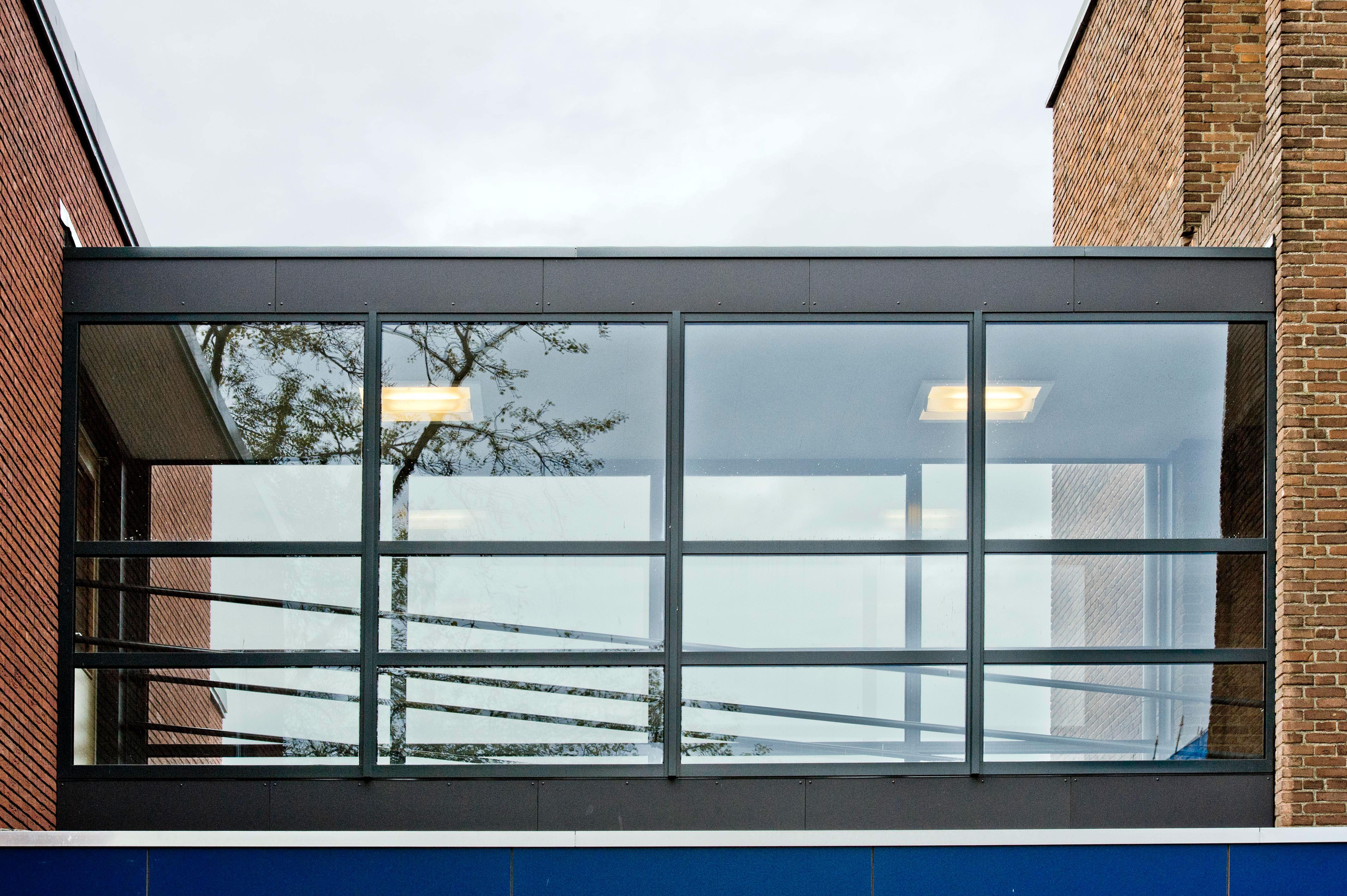 luchtbrug school KREUK architectuur