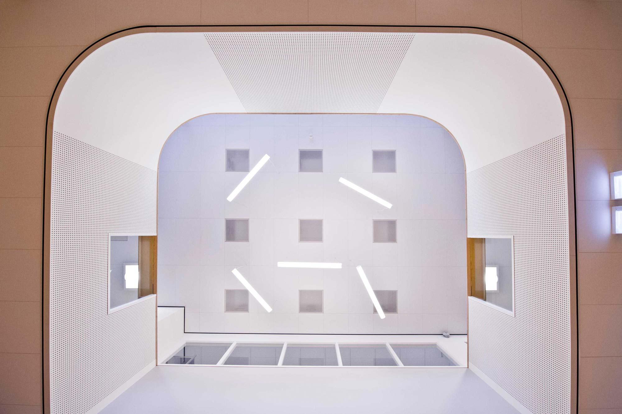 vide nieuwbouw school KREUK architectuur